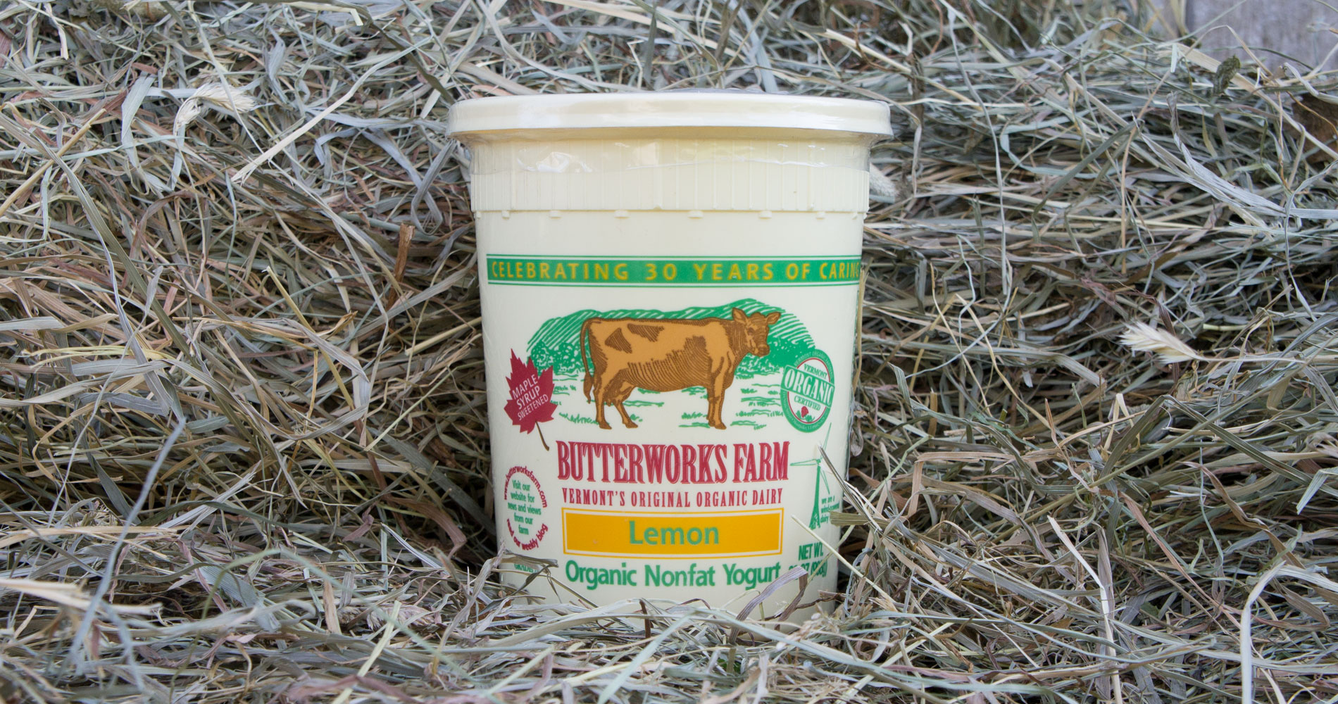 Butterworks Farm Organic Lemon Yogurt