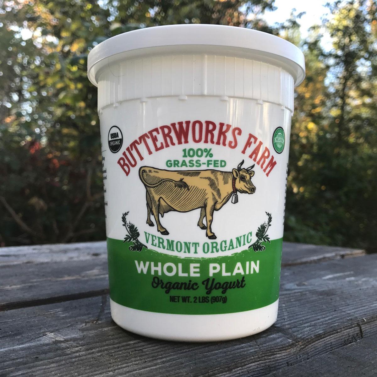 Butterworks Farm Whole Plain Yogurt