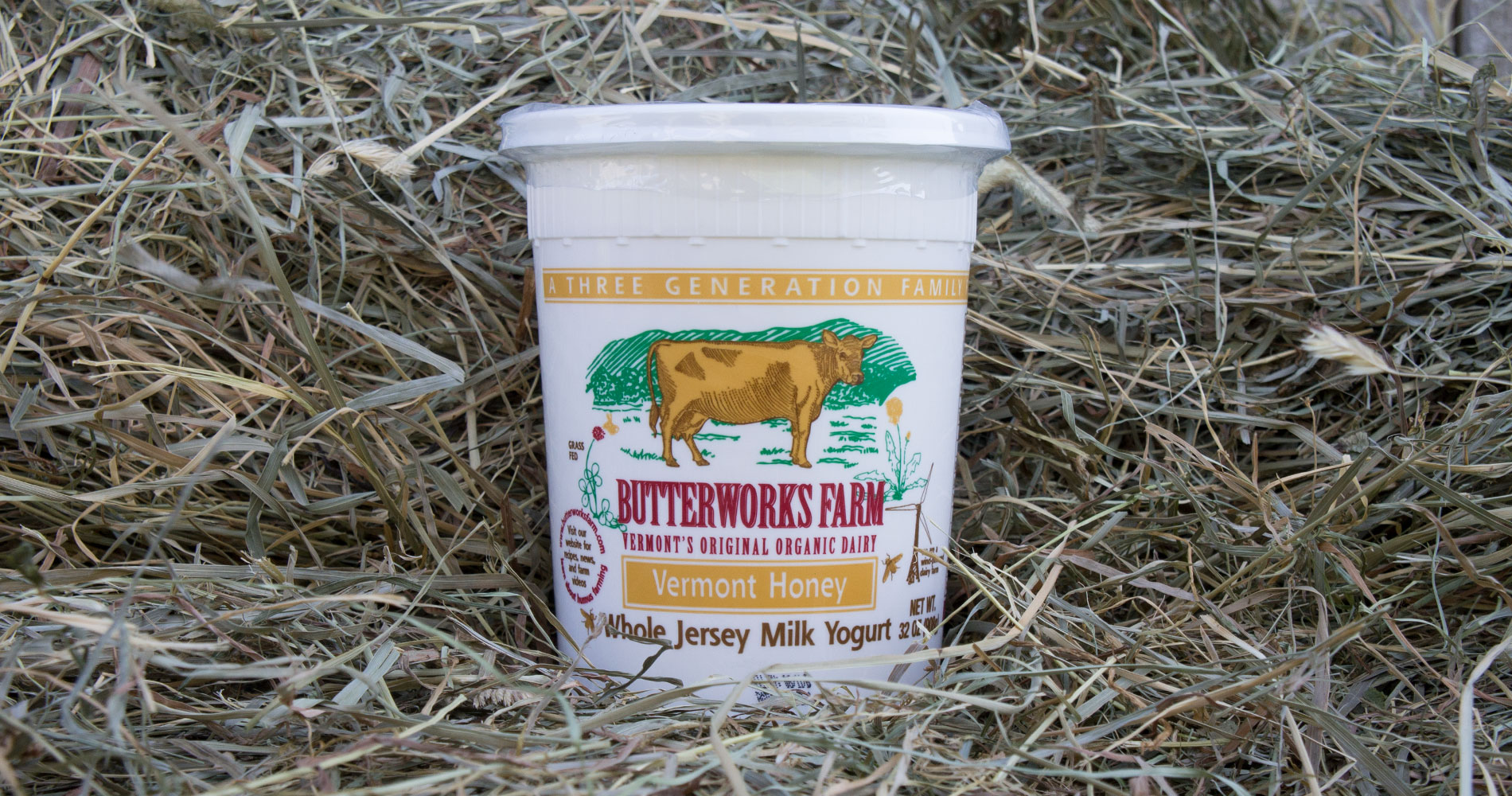 Butterworks Farm Vermont Honey Yogurt