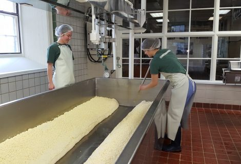 Holiday Cheesemaking at Shelburne Farms