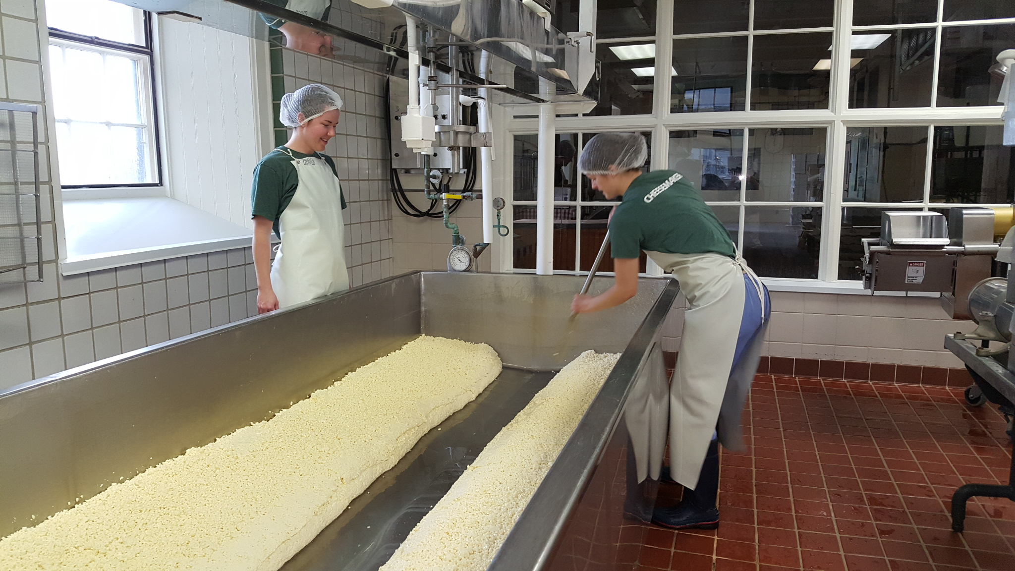 Shelburne Farms Cheese Making Vermont